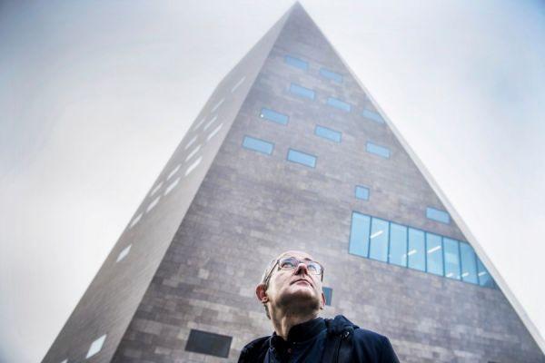 <strong>architect Pieter Bannenberg van NL Architects van Forum Groningen</strong>