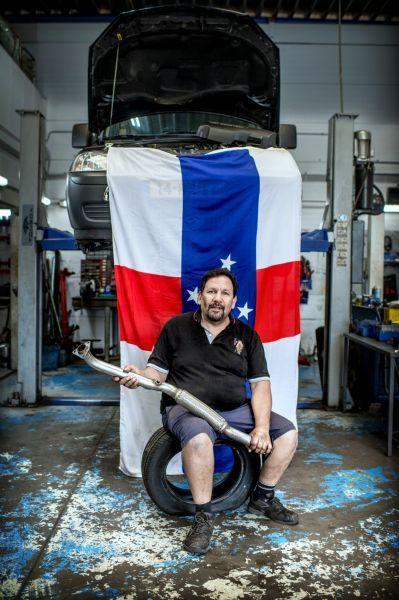 <strong>Bob Dijkhoff, Antilliaanse garagehouder in Groningen</strong>