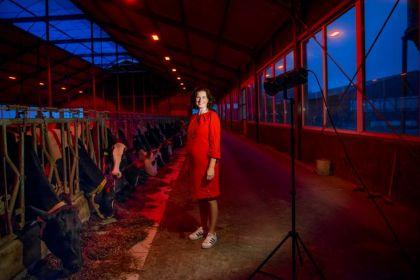 <strong>boerin Agnes, bekend van tv-programma Boer zoekt Vrouw, gaat het theater in.</strong>