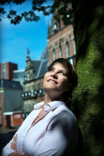 <strong>Fleur Gräper,  namens D66 lid van het college van Gedeputeerde Staten in de provincie Groningen.</strong>