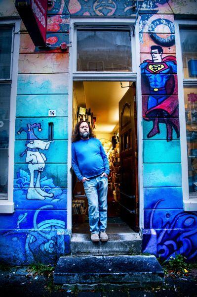 <strong>Henk Drenth, eigenaar stripwinkel</strong>