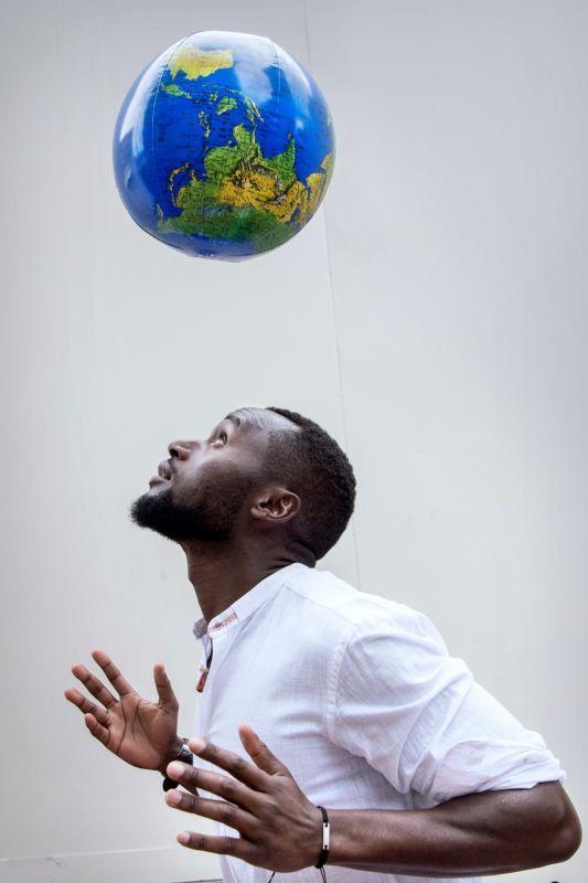 <strong>Pierre Semudenge, , wereldvoetballer</strong>